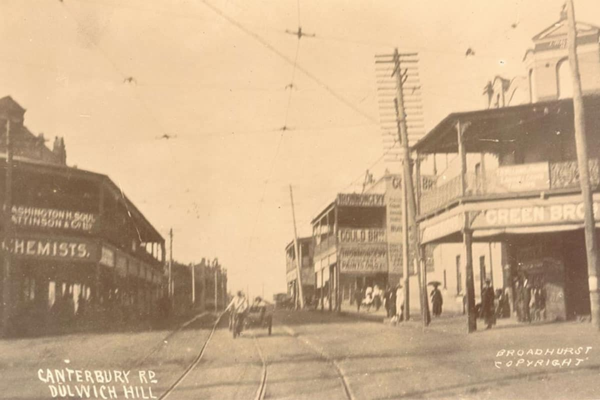 Dulwich Hill in the Olden Days Circa 1912