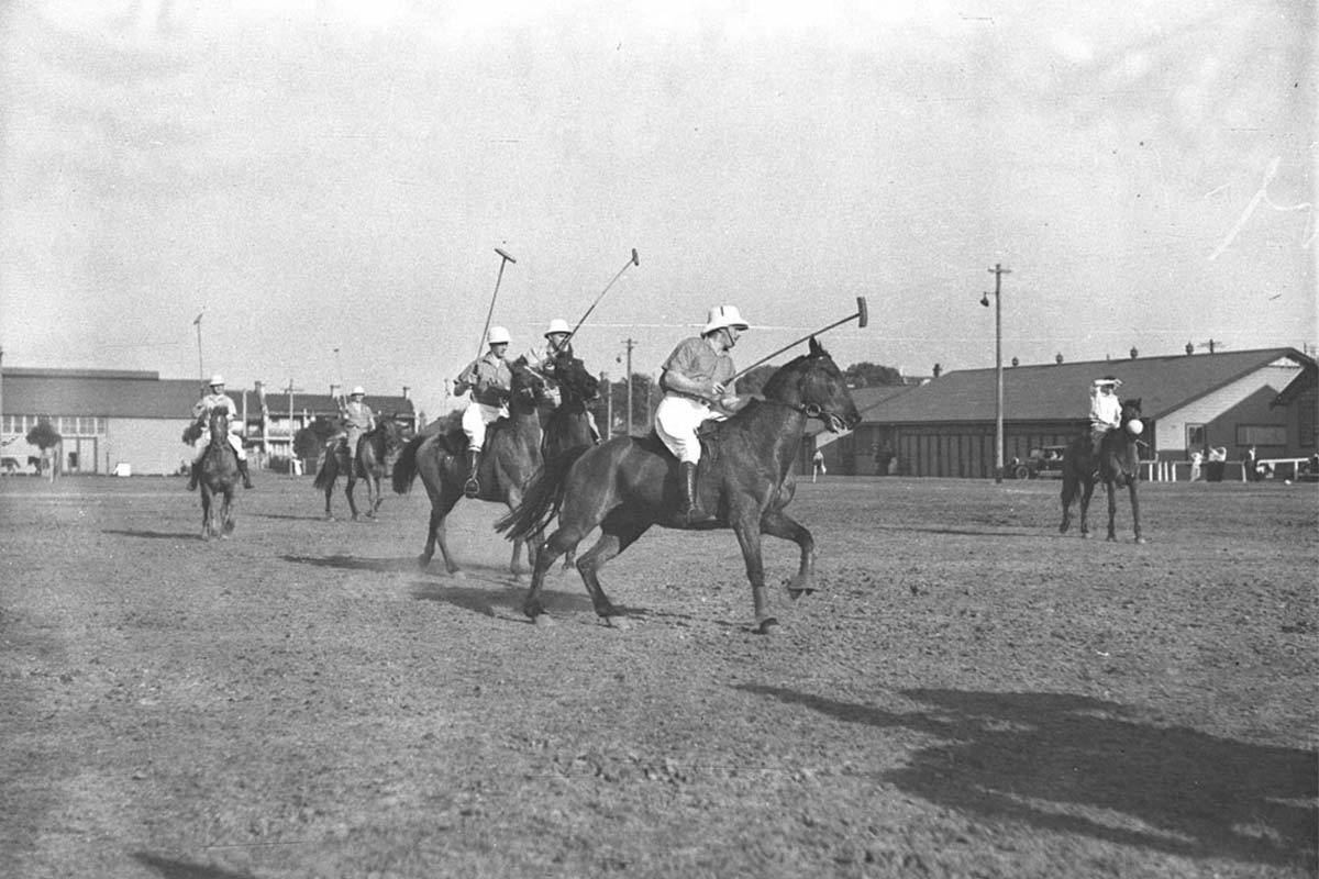 Military Polo at Marrickville Circa 1934